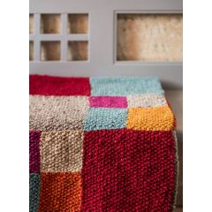 Landlust - Strickset Patchwork-Decke (Set)